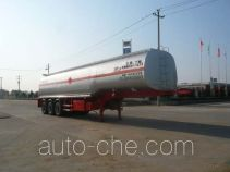 Chufei CLQ9405GHY chemical liquid tank trailer