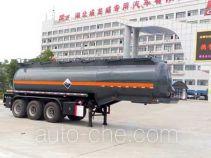 Chufei CLQ9406GFWB corrosive materials transport tank trailer