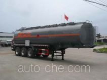 Chufei CLQ9406GRY flammable liquid tank trailer