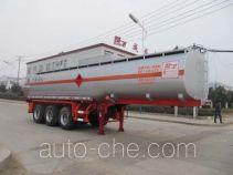 楚飞牌CLQ9406GRYB型易燃液体罐式运输半挂车