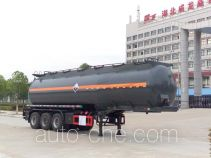 Chufei CLQ9407GFWB corrosive materials transport tank trailer