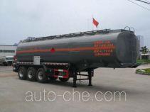 楚飞牌CLQ9407GRYB型易燃液体罐式运输半挂车