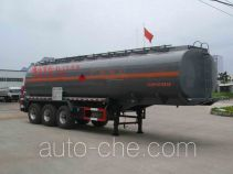 Chufei CLQ9407GRYB flammable liquid tank trailer