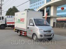 程力威牌CLW5030XXYBEV型纯电动厢式运输车