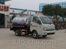 程力威牌CLW5040GXEB4型吸粪车