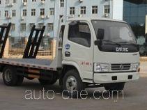 程力威牌CLW5040TPBE5型平板运输车