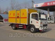 Chengliwei CLW5040XQYZ4 explosives transport truck