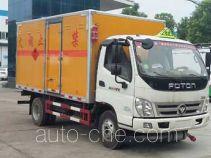 Chengliwei CLW5042XRQB5 автофургон для перевозки горючих газов