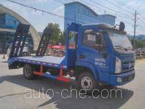 程力威牌CLW5042TPBN5型平板运输车