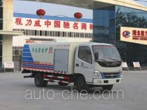Chengliwei CLW5061GQX3 highway guardrail cleaner truck