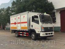 Chengliwei CLW5070XRQE5 автофургон для перевозки горючих газов