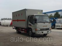 Chengliwei CLW5070XRQH5 flammable gas transport van truck
