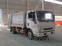 程力威牌CLW5070ZYSN4型压缩式垃圾车