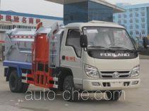 程力威牌CLW5070ZZZB4型自装卸式垃圾车
