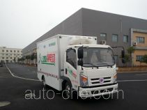 程力威牌CLW5071XLCBEV型纯电动冷藏车