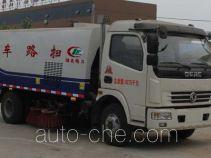 程力威牌CLW5080TSLD4型扫路车