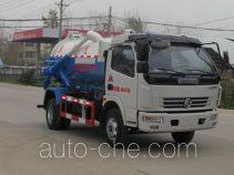 程力威牌CLW5081GXW4型吸污车