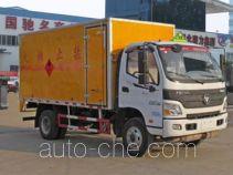 Chengliwei CLW5081XRYB5 автофургон для перевозки легковоспламеняющихся жидкостей
