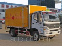 Chengliwei CLW5081XRYB5 flammable liquid transport van truck