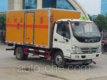 Chengliwei CLW5082XRQB5 flammable gas transport van truck