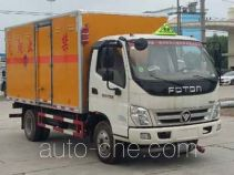 程力威牌CLW5082XRYB5型易燃液体厢式运输车