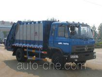 程力威牌CLW5120ZYST4型压缩式垃圾车