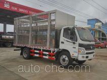 程力威牌CLW5121CCQ5型畜禽运输车