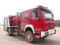 程力威牌CLW5130GXFSL20型森林消防车