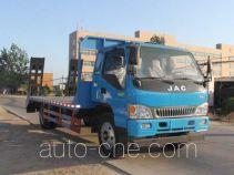 程力威牌CLW5140TPBJ4型平板运输车