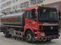 程力威牌CLW5160GYYLB5型铝合金运油车