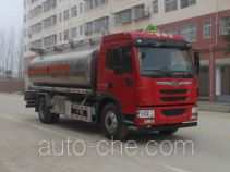 程力威牌CLW5160GYYLC5型铝合金运油车
