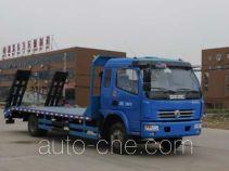 程力威牌CLW5160TPBD4型平板运输车