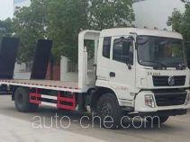 程力威牌CLW5160TPBD5型平板运输车