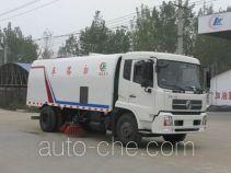 Chengliwei CLW5160TSL4 street sweeper truck