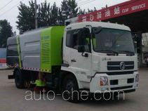Chengliwei CLW5160TSLD5 street sweeper truck