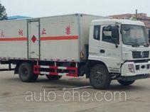 Chengliwei CLW5160XRQD5 flammable gas transport van truck