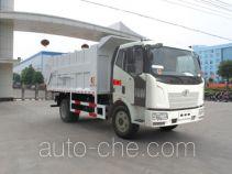 程力威牌CLW5160ZLJC4型自卸式垃圾车