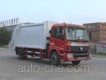 程力威牌CLW5160ZYSB4型压缩式垃圾车
