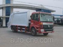 程力威牌CLW5160ZYSB5型压缩式垃圾车