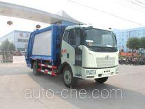 程力威牌CLW5160ZYSC4型压缩式垃圾车