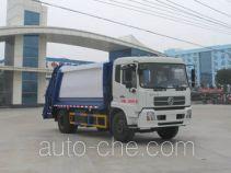 程力威牌CLW5160ZYSD4型压缩式垃圾车