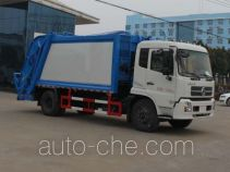 程力威牌CLW5160ZYSD5型压缩式垃圾车