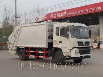 程力威牌CLW5160ZYST5型压缩式垃圾车