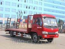 程力威牌CLW5161TPBC3型平板运输车