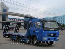 程力威牌CLW5161TPBD4型平板运输车