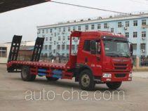 程力威牌CLW5162TPBC4型平板运输车