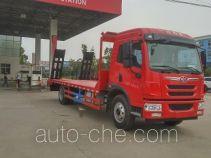 程力威牌CLW5162TPBC5型平板运输车