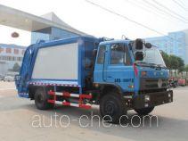 程力威牌CLW5162ZYST4型压缩式垃圾车