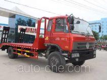 程力威牌CLW5163TPBT4型平板运输车