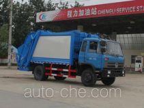 程力威牌CLW5163ZYST4型压缩式垃圾车